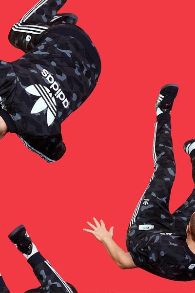 BAPE x Adidas noir
