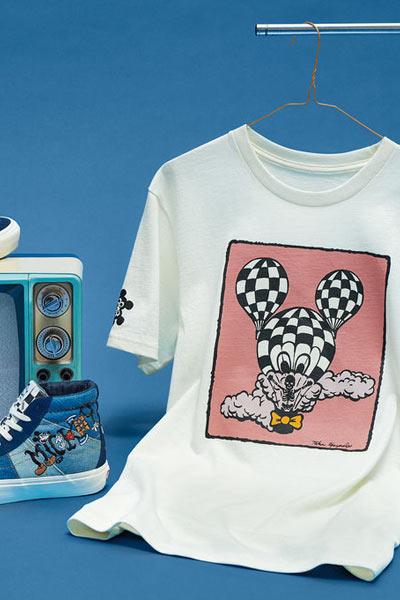 Vans x Disney mickey Taka Hayashi