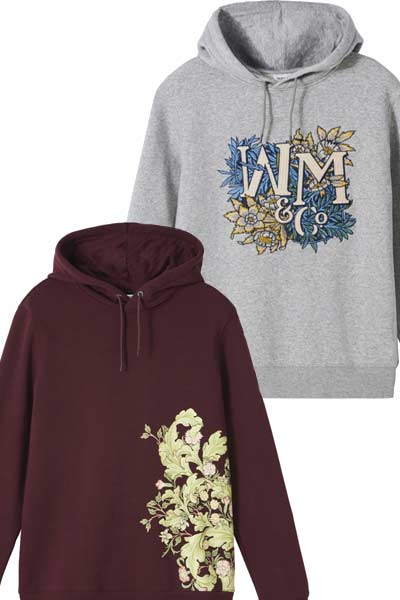 Hoodies H&M x Morris & Co