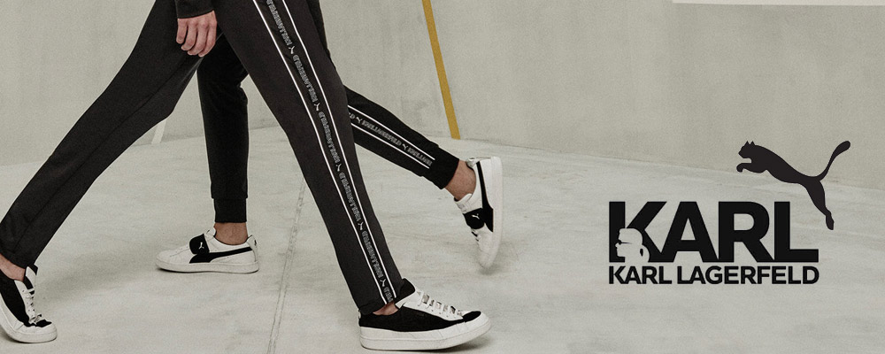 collection capsule Karl Lagerfeld x PUMA