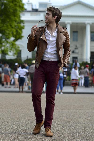 tenue homme perfecto marron