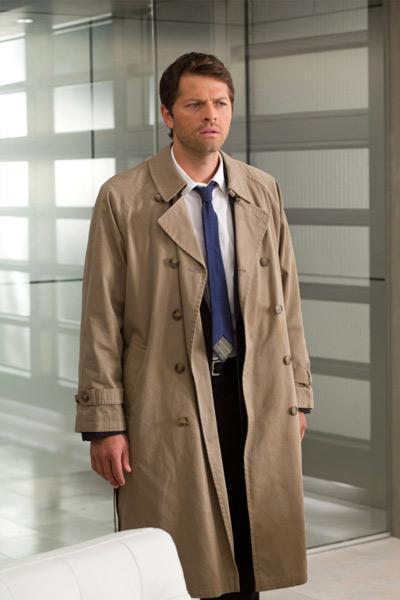 Castiel supernatural trench coat homme