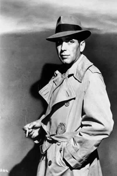 Humphrey Bogart trench, choisir un trench coat homme
