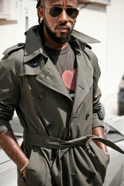 trench coat kaki homme