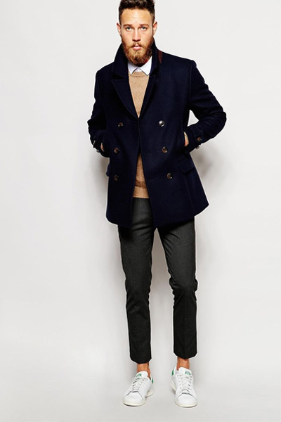look casual caban homme