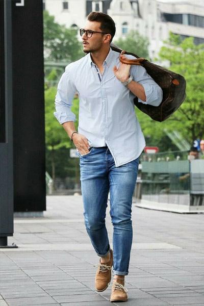 chemise droite ou regular homme