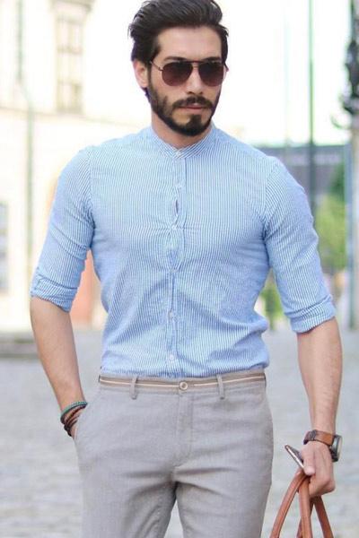 chemise trop petite homme
