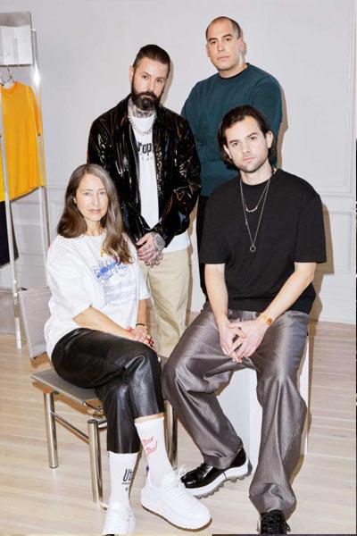 H&M x Eytys collection de vêtement unisexe
