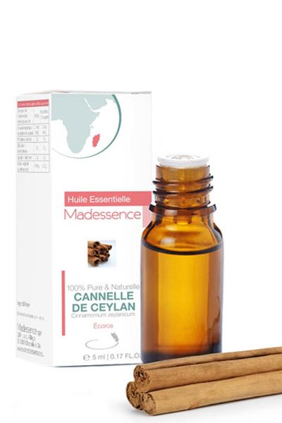 huile essentielle de cannelle de Ceylan pour soigner un rhume