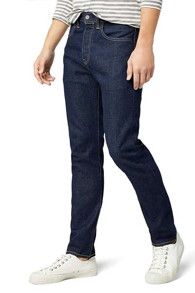 jean homme coupe tapered