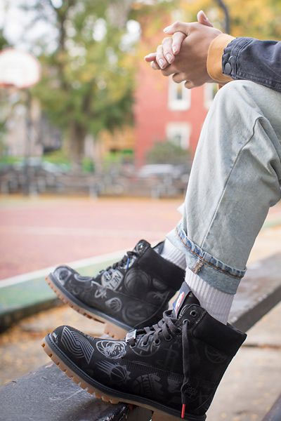 Timberland x NBA 6 inch noire