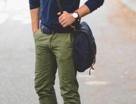 quoi porter avec un pantalon kaki homme