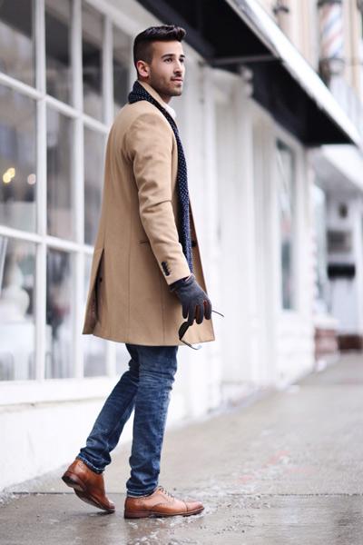 avoir la classe homme manteau long
