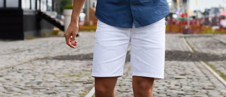 comment porter un short homme