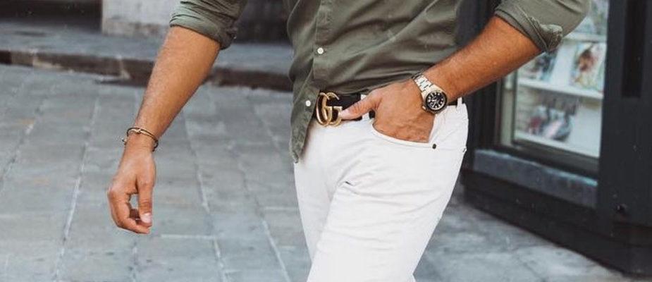 comment porter un pantalon blanc homme