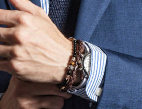 bracelet de perles homme et bracelet en cuir