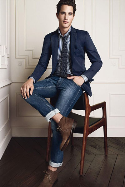 homme habiller casual chic