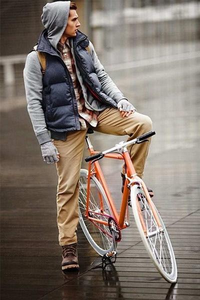 look workwear homme chino et chemise à carreaux