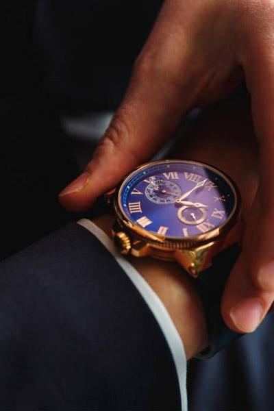 montre de luxe de seconde main