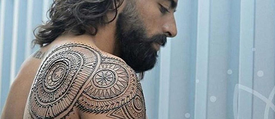 tatouage temporaire ou tatouage éphémères pour homme