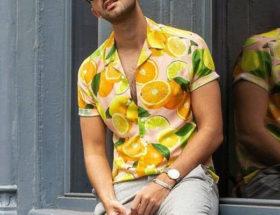 porter une chemise à manches courtes homme