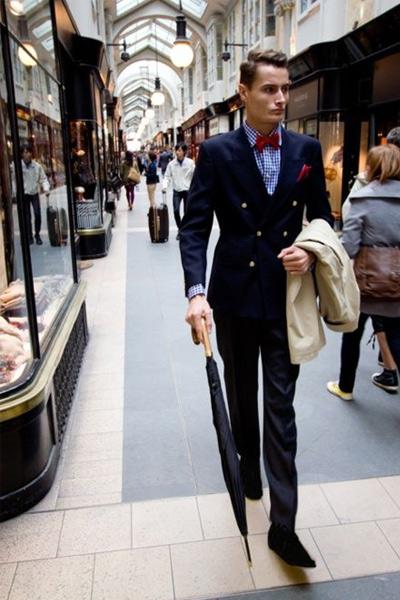 tenue dandy homme