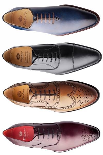 différents bouts pour soulier derby ou richelieu