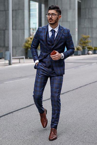 tenue formelle homme gilet de costume