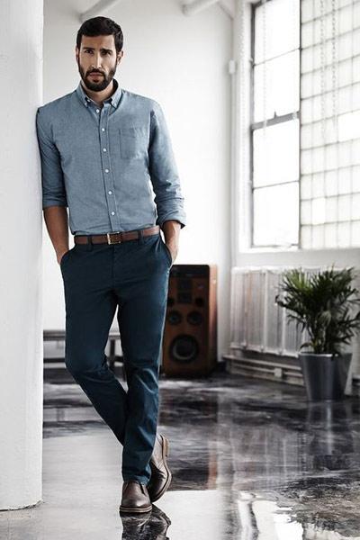 tenue homme pour le bureau
