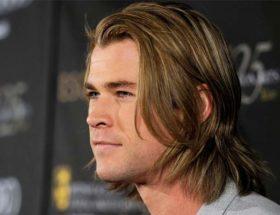 cheveux longs homme