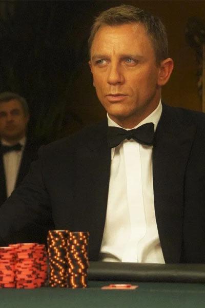james bond poker face