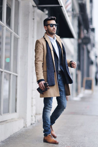 tenue business chic homme
