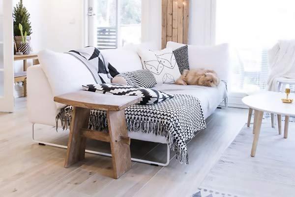 textile déco scandinave
