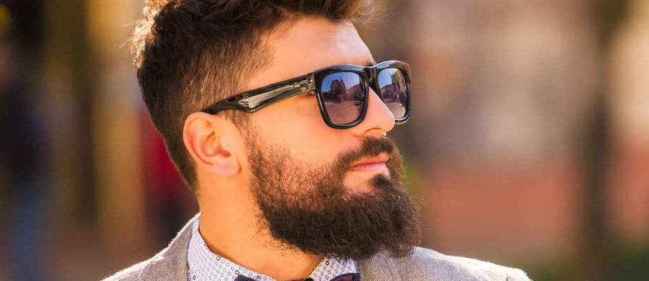 trous dans la barbe