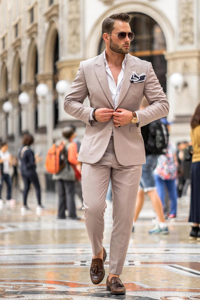 casual chic homme