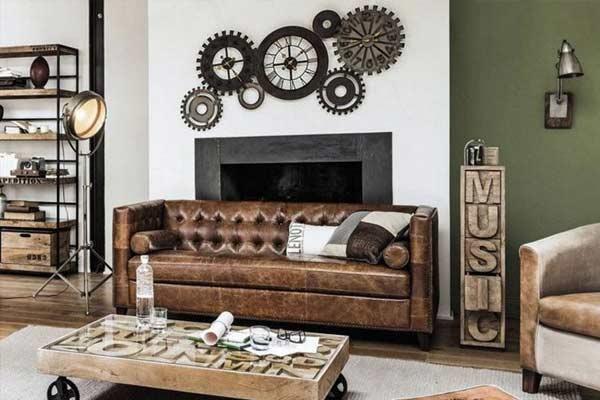 mobilier déco industrielle