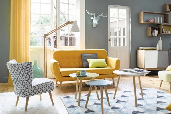 canapé scandinave maison du monde