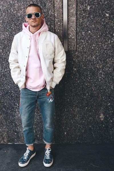 look streetwear homme
