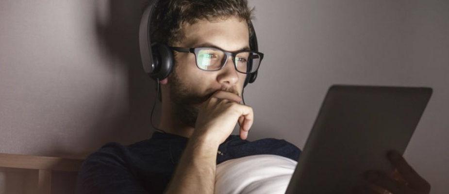 lunettes anti-lumière bleue