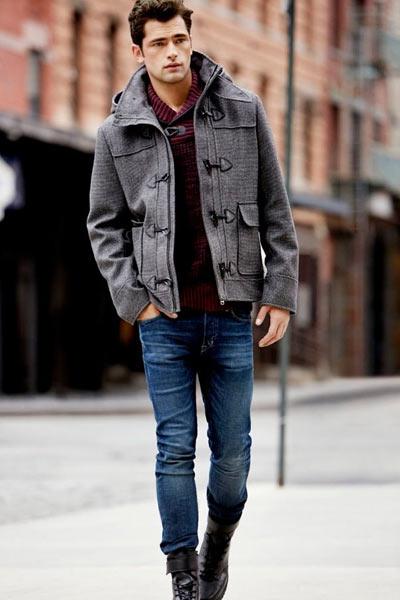 duffle coat homme coupe courte
