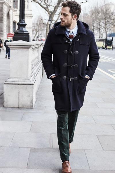 porter un duffle coat homme