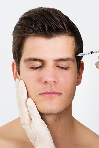 injection botox médecine esthétique homme