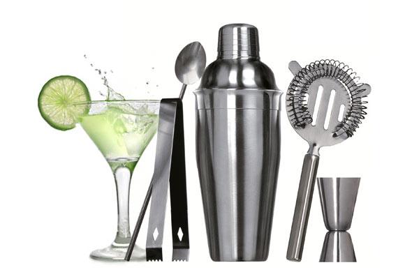 idées de cadeaux de Noël pour hommes coffret cocktail 5 pièces