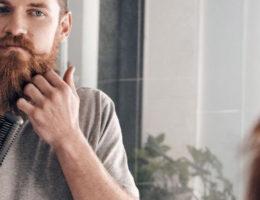 lisser sa barbe