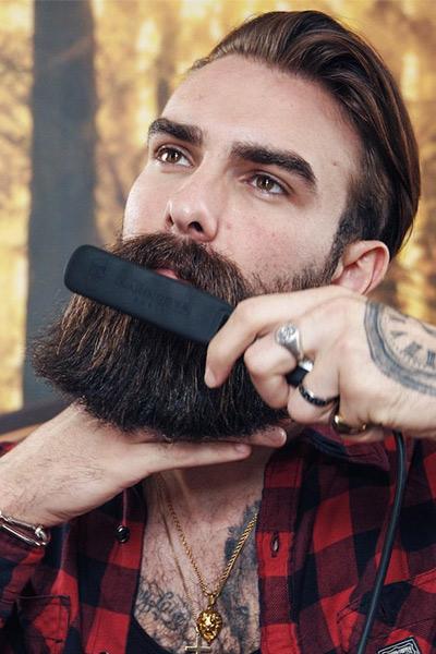 lisseur à barbe