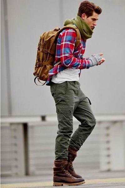 tenue workwear baroudeur pantalon cargo homme