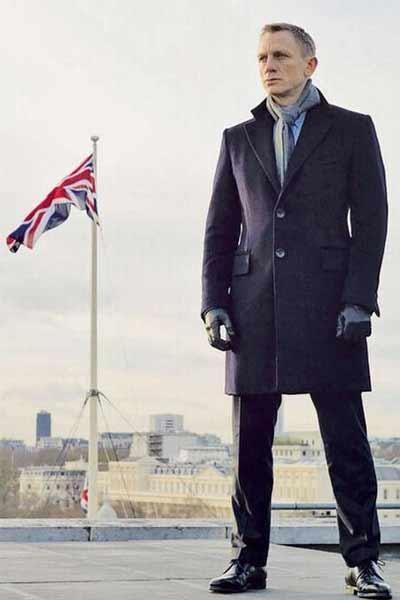 gants en cuir homme tenue formelle