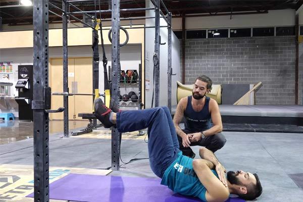 exercices TRX hip thrust