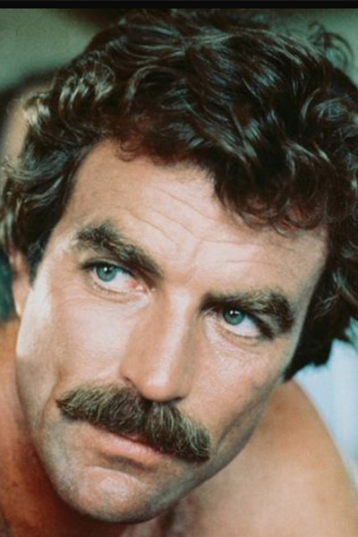 moustache chevron