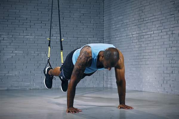 exercices TRX planche